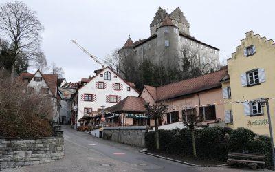 Dornröschenschlaf: Meersburg im Winter