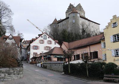 Steigstrasse Meersburg Winter