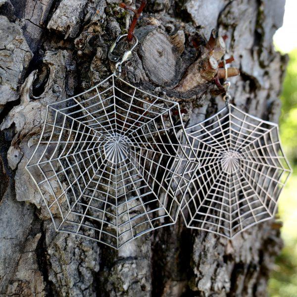 Spinnennetz Ohrhänger 4