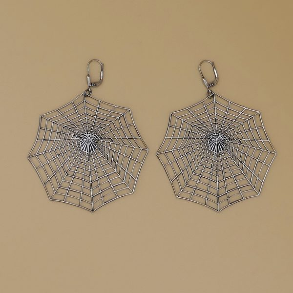Spinnennetz Ohrhänger 2