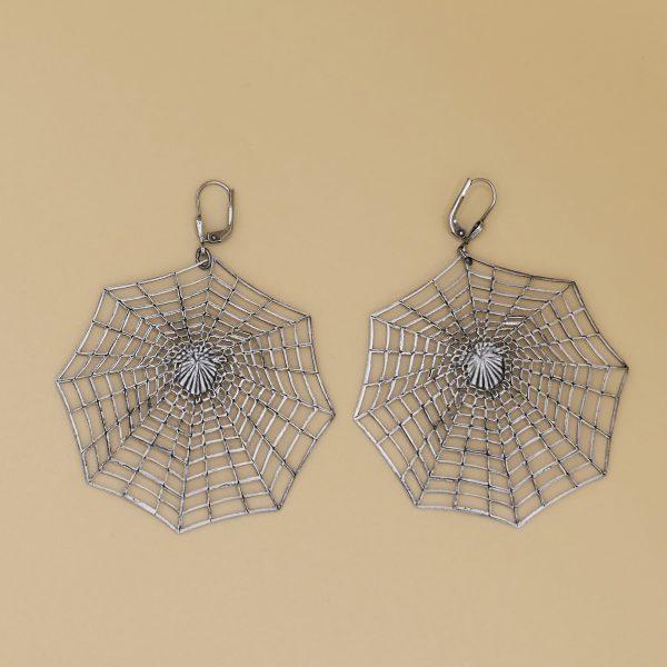 Spinnennetz Ohrhänger 3