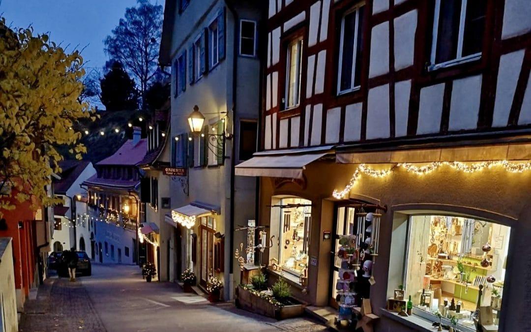 Weihnachts-Shopping in Meersburg