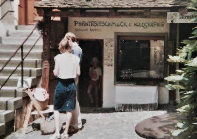 Über uns: Schmuckladen Meersburg 1987