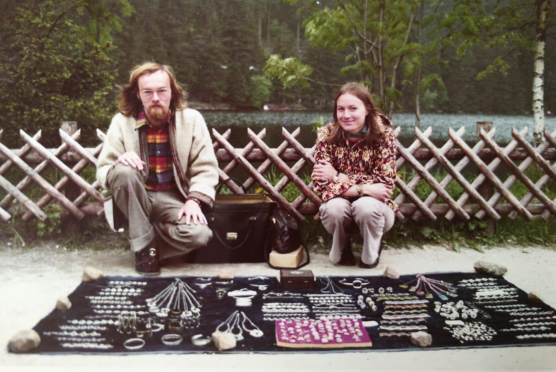 Phantasieschmuck Team am Mummelsee 1977